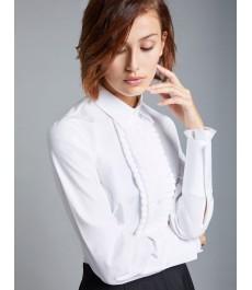 Женская приталенная английская рубашка, коллекция Бутик