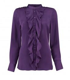 Женская модная рубашка ежевичного цвета, коллекция Бутик