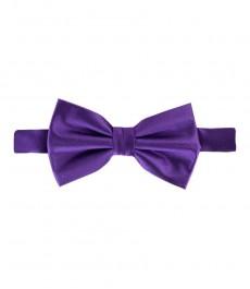100% шелковая бабочка, насыщенный фиолетовый цвет, завязанная.