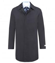 Мужское классическое пальто, темно-синее