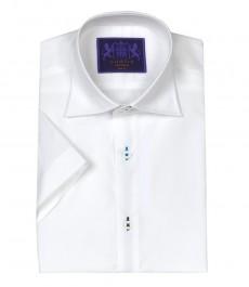 Мужская белая рубашка Chelsea, короткий рукав