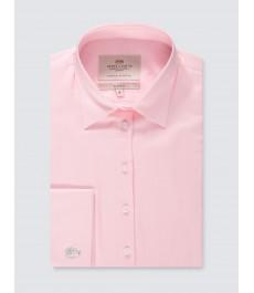 Женская приталенная розовая английская рубашка, коллекция Executive