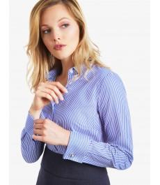 Женская приталенная рубашка коллекция Бутик - под запонку