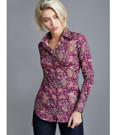 Женская приталенная английская рубашка Hawes & Curtis