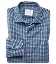 Мужская экстраприталенная английская рубашка Charles Tyrwhitt