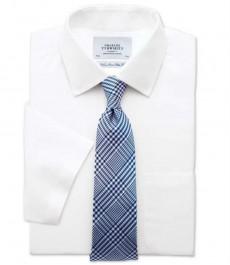 Белая приталенная рубашка Charles Tyrwhitt не требует глажки