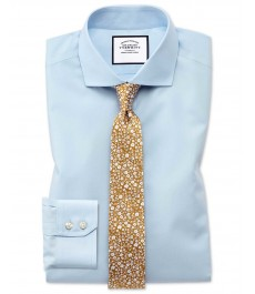Мужская экстраприталенная рубашка Charles Tyrwhitt, коллекция на лето