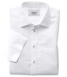 Мужская приталенная белая рубашка, Charles Tyrwhitt