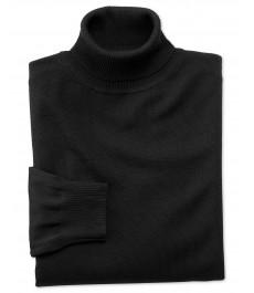 Чёрная водолазка Charles Tyrwhitt, мериносовая шерсть
