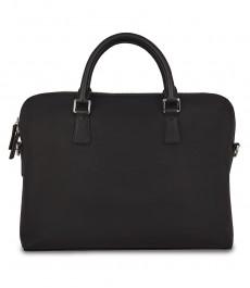 Женская черная сумка, кожа