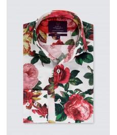 Мужская модная приталенная рубашка Curtis
