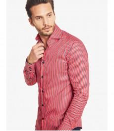 Мужская модная приталенная рубашка