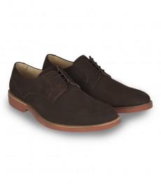 Мужская повседневная обувь, коричневые, замша