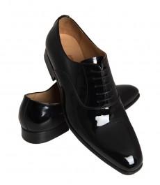 Мужские черные ботинки кросби