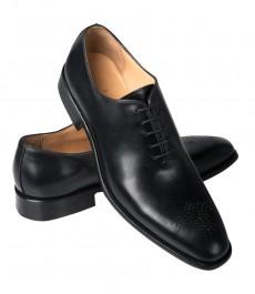 Мужская обувь, черная, кожа