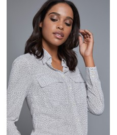Женская английская рубашка, свободный крой