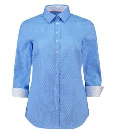 Женская полуприталенная рубашка