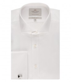Мужская приталенная рубашка, ткань пике - легко гладится