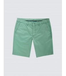 Мужские светло-зелёные хлопковые шорты-слаксы