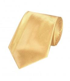 Мужской галстук, цвет золотой, 100% шелк