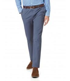 Экстраприталенные хлопковые брюки-слаксы Charles Tyrwhitt, стрейч-коллекция