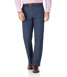 Классические хлопковые брюки-слаксы Charles Tyrwhitt, стрейч-коллекция