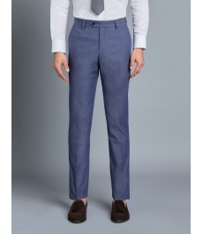 Мужские голубые итальянские брюки-  Коллекция 1913