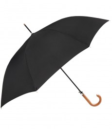 Черный длинный зонт Hawes & Curtis