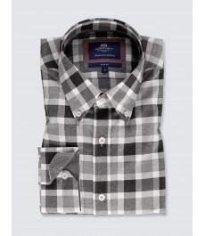 Мужская casual рубашка, свободный стиль