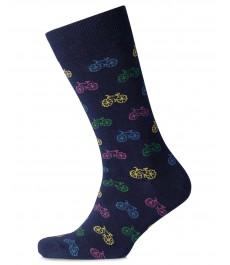 Носки Charles Tyrwhitt с разноцветными велосипедами