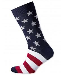 "Английские носки Charles Tyrwhitt ""Звёздочки и полоски"""