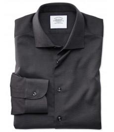 Классическая рубашка Оксфорд от Charles Tyrwhitt, стиль smart casual, королевского угольного цвета