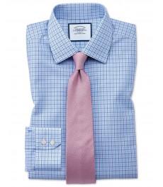 Мужская классическая английская рубашка Charles Tyrwhitt, манжета под пуговицу