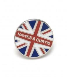 Значок Hawes & Curtis в виде анлийского флага