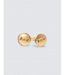 Запонки в тон золота – Королевская коллекция