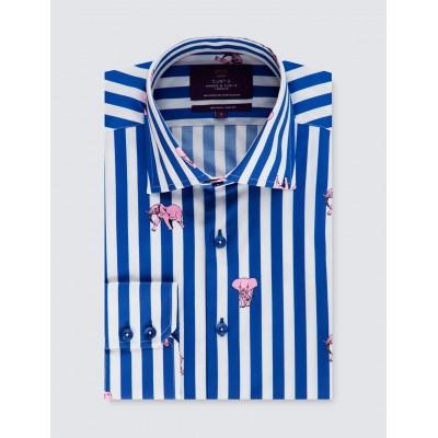 b9206a139a4 Мужская модная приталенная рубашка Curtis