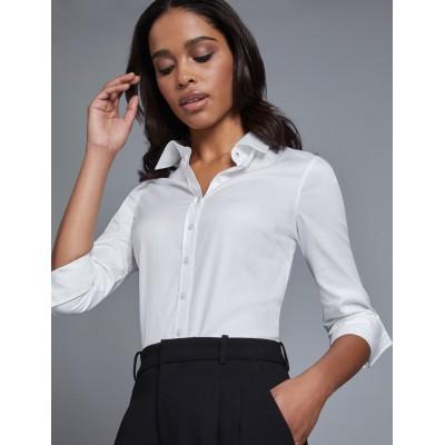 20e9110e376 Женская полуприталенная рубашка