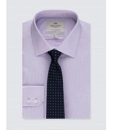 Мужская офисная приталенная рубашка St James, рукав под пуговицу