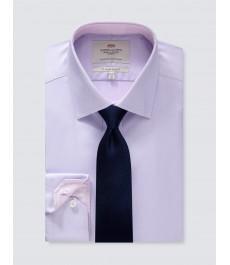 Business casual приталенная хлопковая рубашка - легко гладится
