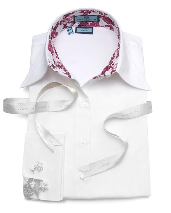 мужские рубашки с двойным воротником купить