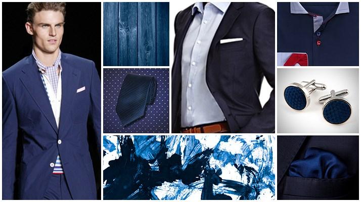Тёмно-синие костюмы